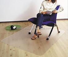 Office clear chair mat office hard floor protective mat
