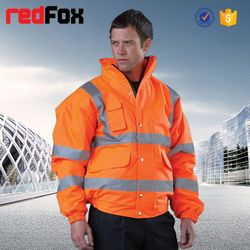 wholesale waterproof high visibility safety winter jacket for motorcycle
