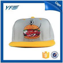 Wholesale Custom Printing Cartoon Flat Brim Cap/Child Baby Hat Snapback Cap