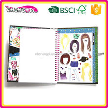 Powerful baby cloth photo book, all kinds of children book, adhesive sticker book