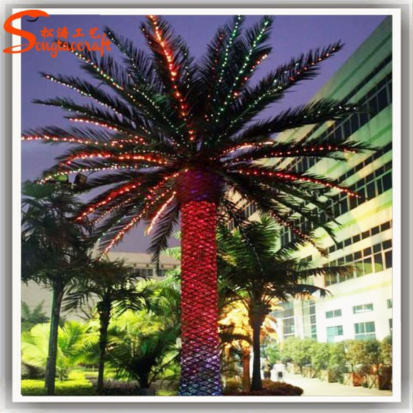 china wholesale artificial outdoor palm trees manufacturer outdoor lighted palm tree buy. Black Bedroom Furniture Sets. Home Design Ideas