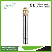 electric high pressure submersible 4SKM/ vortex pump in China/best price per watt solar panels