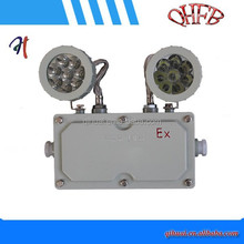 BAJ series explosion proof emergency light with two head lights