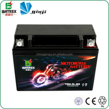 High Quality Rechargeable Sealed 12V Batteries For Motorcycle