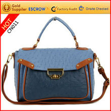 2012 new arrival cute ladies sling bag with handle easy to carry