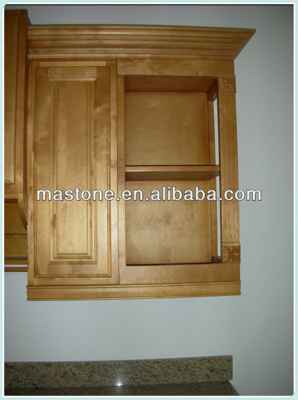 Vitrage cuisine mur en bois design coin