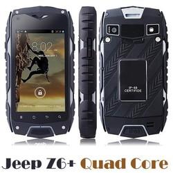 "Jeep Z6 MTK6582 IP68 Waterproof Smart Phone 4.0"" Screen MTK6572 Dual Core 4GB 3G Dustproof Shockproof Jeep Z6 quad core"