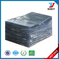 Hard clear plastic book cover pvc binding cover