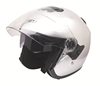 ECE open face motorcycle helmet with double visors