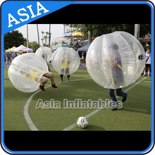 glamour and fascinating inflatable bumper ball, human bumper ball, body bumper ball for playing