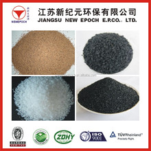 Anthracite filter media/1-3mm calcined anthracite coal