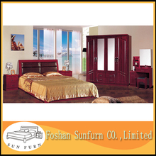 PVC exotic antique middle east style bedroom furniture
