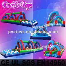backyard inflatable slip slide