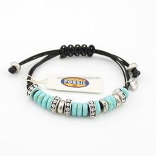 Wonderful DIY Beads Friendship Bracelet,nature shell beads leather braided bracelets