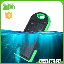 6000mah portable solar power bank for laptops and phones