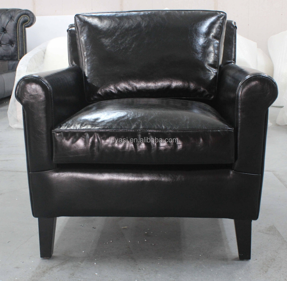 Living room chair genuine leather genuine leather sofa set for Good cheap couches