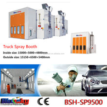 good quality factory price exhaust fan spray booth/bake paint booth/truck spray booth