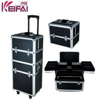 Foshan Exporter Abs Black Nail Polish Aluminum Storage Case