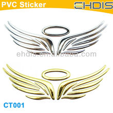 new car beauty product custom decal gold wing motorcycle