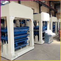 High Quality Concrete Solid Blocks Making Production Line Sold Well In Africa