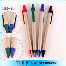 Full color print paper tube eco ball-point pen