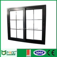 China Made aluminium window grills design for sliding windows with Australian Standard AS2047/AS1288 Certificates PNOC0009SLW