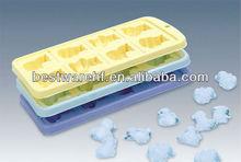 US use trays free design silicone ice cube tray shaped ice cube tray