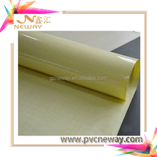 Hot sale 80mic pvc film lamination with white liner for protecting graphic