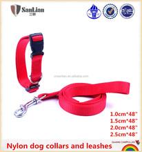 Hot Selling Fashion Pet Nylon Leashes & Collar Wholesale