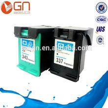 Substituição do cartucho de tinta usado para HP Deskjet 6540 / 6620 / 6840 / 9800