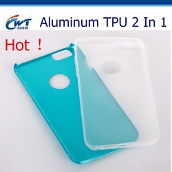 Best selling products aluminum TPU hybrid 2 piece phone case for iphone 5,2 piece phone case wholesale from mould factory