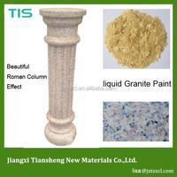 Acrylic Liquid Granite Stone Paint For Wall Decoration