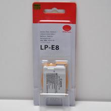 Genuine LP-E8 Li-ion Battery for Canon EOS 550D 600D Kiss X4 Rebel T3i T2i
