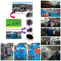 famosa marca yuntong novo design usd de borracha e pneus reciclagem de grânulos de borracha que faz a planta de borracha velha equipement resuing