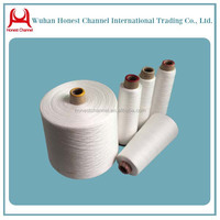 optical white plastic yarn dyeing cone/paper yarn sewing thread for knitting