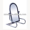 canto redondo stand piso decorativos espelho para venda suporte para o espelho do chão