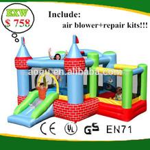 gorila inflable mini para jugar los niños