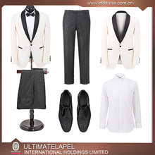 Customized design mens groom wedding suit for man groomsmen suit