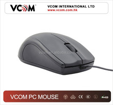 2015 Hot Sale Wired Black Optical Scroll Mouse