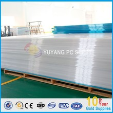 two wall hollow Polycarbonate Sheet greenhouse/transparent pc sheet;makrolon polycarbonate sheet
