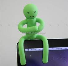 led display pvc u disk set /promotional rubber usb
