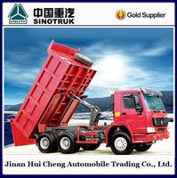 336 hp Euro2 10 ton used man diesel tipper truck
