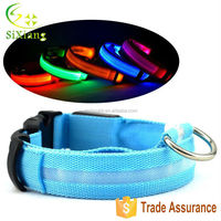 Wholesale 300pcs Low Price Free Shipping Stock Flashing Safety Illuminated Dog Collar