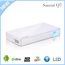 Cheap mini projector mobile phone with li battery 3000mAh for home and outdoor use