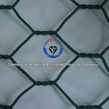 hot sale gabion wire mesh / anping PVC rock basket wire mesh factory / gabion basket price