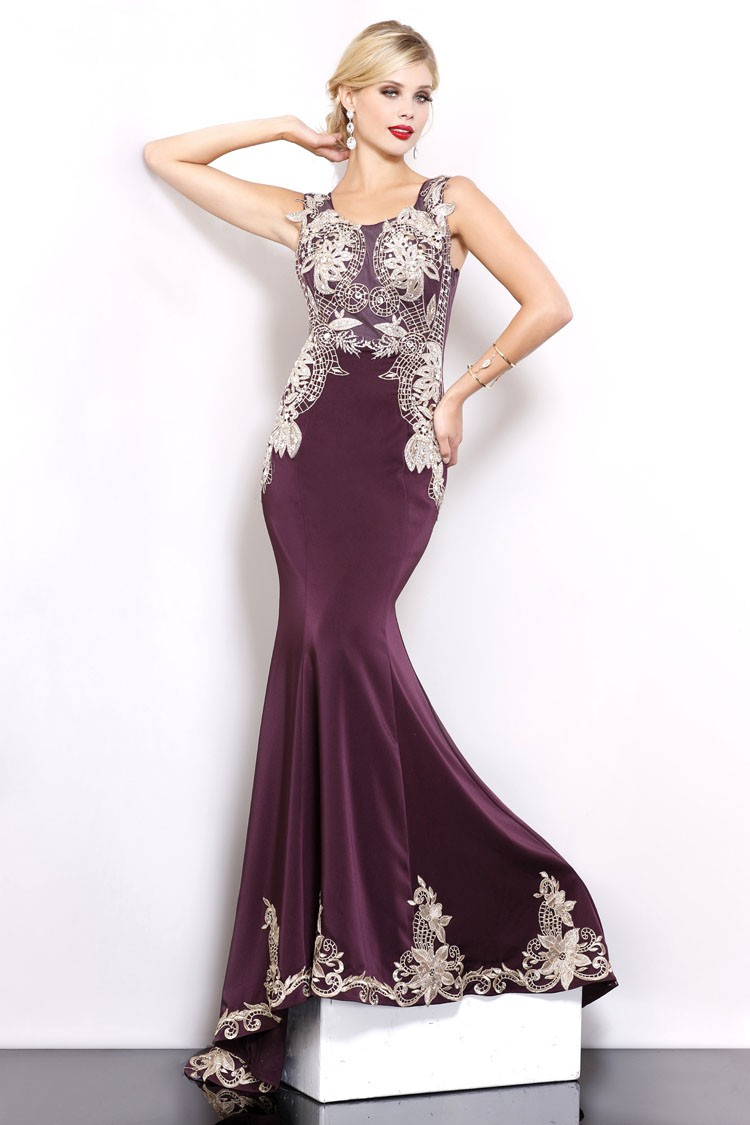 Plum African Style Ghana Wedding Dresses To Wear To A Wedding - Buy ...