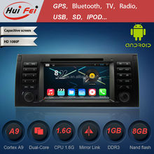 Android 4.4.4 HD car dvd player with GPS navigation for BMW5-E39/BMW X5-E53