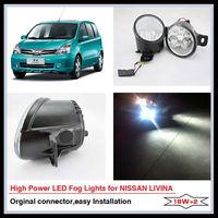 High Power LED Fog Lamp For Nissan LIVINA