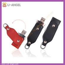 hot selling Leather 2GB 4GB 8GB usb flash drive electronic gadgets for festival and birthday gift
