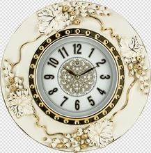 ebay home decor apple shape resin wall clock JHF15-8168A